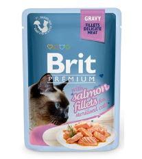 Brit Premium Cat D Fillets in Gravy for Sterilised 85g