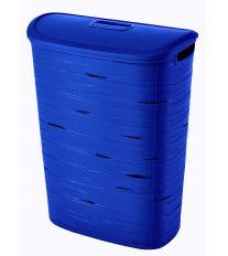 Curver Koš na špinavé prádlo RIBBON 49l modrý