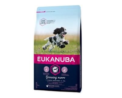 Eukanuba Puppy & Junior Medium Breed 3 kg