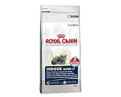 Royal Canin Feline Indoor 7+ - pre dospelé mačky nad 7 rokov žijúce v byte 400 g