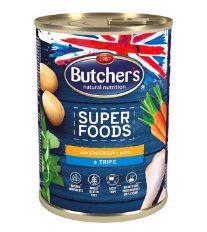Butcher's Dog Superfood dršťky a kuřecí konz. 400g