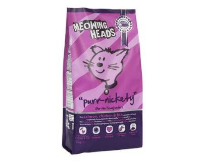 Meowing Heads Purr-Nickety - losos & kuracie pre dospelé mačky