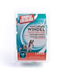Simple Solution Pratelné plenky pro psy, velikost L