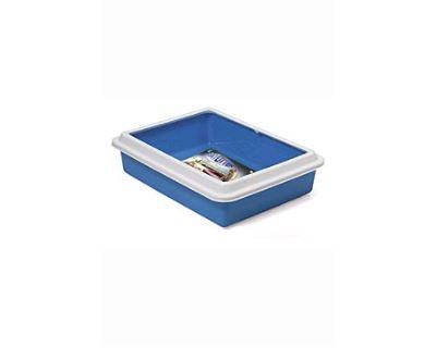 WC Katja otvorené s okrajom 43,5 x 34 x 11 cm modrá