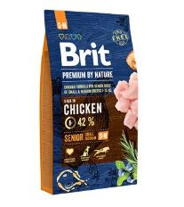 Brit Premium by Nature Dog Senior S+M 8 kg