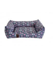 Pelech pre psa Argi obdĺžnikový - odnímateľný povlak z polyesteru - Molly - 80 x 65 cm