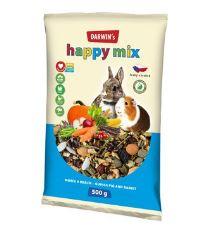 Darwin´s morča, králik happy mix 500g