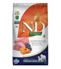 N&D GF Pumpkin DOG Adult Mini Lamb & Blueberry
