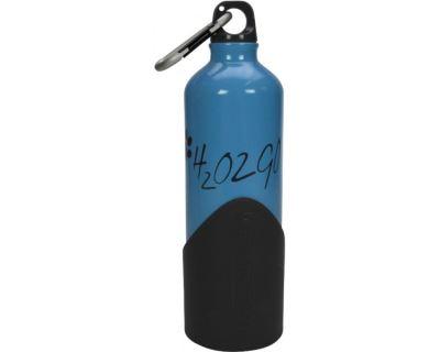 H2o2go Cestovné fľaša na vodu modrá 750 ml