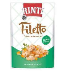 Kapsička RINTI Filetto kuře + zelenina v želé 100 g