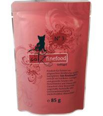 Catz Finefood No.3 Kapsička - hydina pre mačky 85 g
