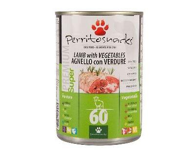 Perrito Lamb & Vegetables - jahňacie & zelenina konzerva pre psov 395 g