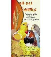 Krmivo pre Vtáky SANMIX, vlhké, vaječné 1kg