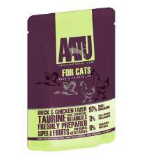 AATU Cat Duck n Chicken Liver kaps. 85g