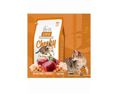 Brit Cat Cheeky I`m Living Outdoor - zverina & ryža pre mačky žijúce vonku 2 kg