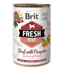 Konzerva BRIT Fresh Beef with Pumpkin 400g