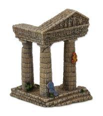 Dekorace AQUA EXCELLENT Zřícenina chrámu 7,5 cm 1ks