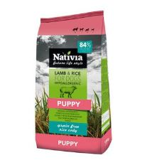 Nativia Dog Puppy Lamb&Rice 3kg