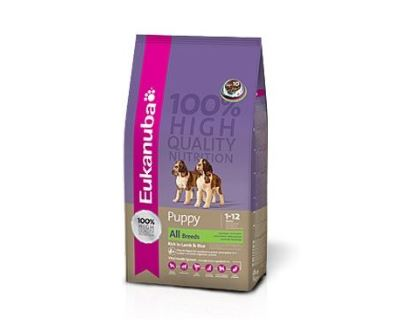 Eukanuba Puppy & Junior Lamb & Rice 1 kg