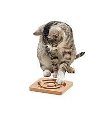 Hračka mačka interakt. hra Round about 19x19 KAR