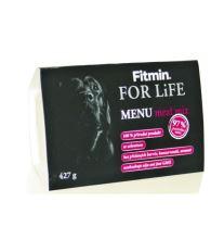 Fitmin For Life Menu Meat Mix - mäsová zmes vanička pre psov 427 g