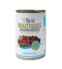 Brit Boutiques Gourmandes Duck Bits & Paté - kačica v kréme 400 g