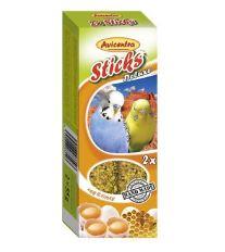 Avicentra tyčinky andulka - vajcia + med 2ks