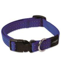 Obojok pre psa nylonový - Rogz Utility - modrý - 1,6 x 26 - 40 cm