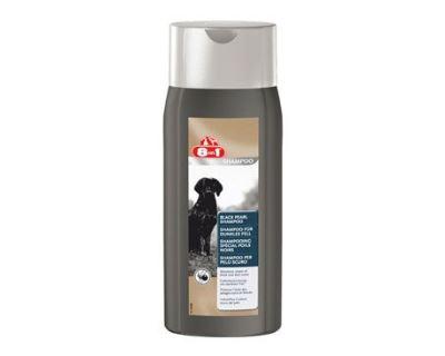 8in1 Šampón black pearl pre psov s čiernou srsťou 250 ml