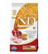 N&D Low Grain Cat Neutered Chicken & Pomegr. - Kuracie & gr. jablko s nízkym obsahom ibilovin pre kastrované mačky