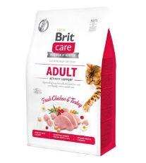 Brit Care Cat GF Adult Activity Support, 0,4kg