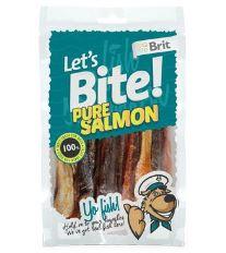 Brit pochoutka Let's Bite Pure Salmon 80g NEW