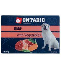 ONTARIO vanička Beef with vegetable 320 g