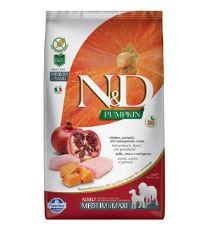 N&D GF Pumpkin DOG Adult M/L Chicken & Pomegranate