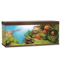 Juwel Rio 400 akvárium set tmavo hnedý 151x51x66 cm, objem 400 l