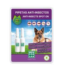 Menforsan Antiparazitný pipety proti blchám a kliešťom pre psov - 2 x 1,5 ml