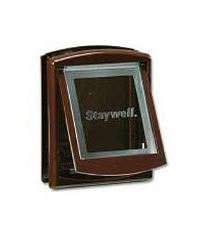 Staywell Dvierka s transparentným flap hnedá typ 755