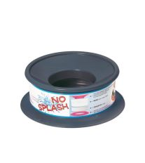 Nerozlitelná miska pro psy Argi - černá - 22 x 9,5 cm