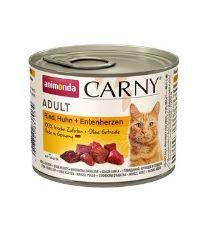 Animonda konz. kočka Adult hov/kuř/srdce 200 g