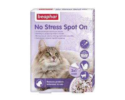 Beaphar No Stress Spot On upokojujúci sprej pre mačky