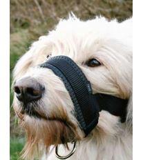 Náhubok fixačné nylon podložený pes XL 23-34cm TR