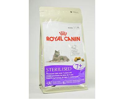 Royal Canin Feline Sterilised 7+ - pre dospelé kastrované mačky nad 7 rokov 400 g