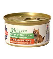 Hill 'Feline Kitten Mousse - hydinové pena pre mačiatka 85 g