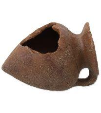 Dekorace AQUA EXCELLENT Amfora hliněná 10,5 cm 1ks
