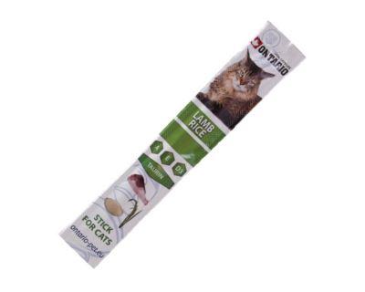 Ontario Stick Lamb & Rice - tyčinka jahňa & ryža pre mačky a mačiatka 5 g