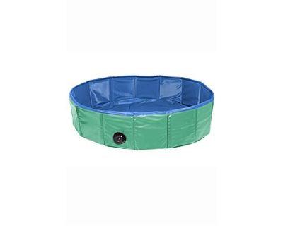 Bazén sklad. nylon pes 120x30cm green / blue KAR 1ks