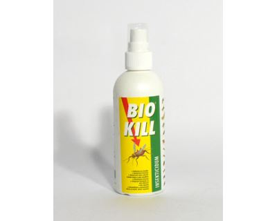 Bio Kill sprej - vysoko účinný, netoxický a antiparazitický prípravok na prostredie 100 ml