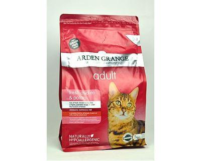 Arden Grange Cat Adult Chicken & Potato - kuracie & zemiaky 2 kg