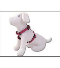 Postroj DOG FANTASY Classic růžový