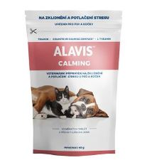 Alavis Calming pre psov a mačky - pre potlačenie nervozity a stresu, 30 tabliet 45 g